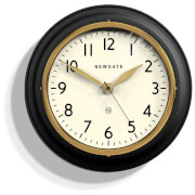 Newgate Cookhouse II Wall Clock - Black