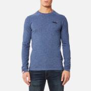 Superdry Men's Orange Label Vintage Long Sleeve T-Shirt - Maritime Grit