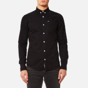 Superdry Men's Ultimate Oxford Long Sleeve Shirt - Black