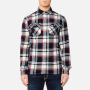 Superdry Men's Lumberjack Long Sleeve Shirt - Hudson Black Check