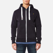 Superdry Men's Orange Label Zip Hoody - Truest Navy