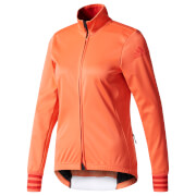 adidas Women's Adistar Long Sleeve Winter Jersey - Coral