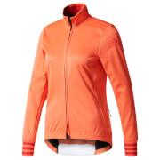 adidas Women's Adistar Long Sleeve Winter Jersey - Coral