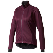 adidas Women's Warmtefront Long Sleeve Jacket - Burgundy