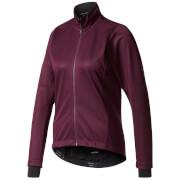 adidas Women's Warmtefront Long Sleeve Jacket - Burgundy