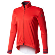 adidas Men's Adistar Long Sleeve Winter Jersey - Red