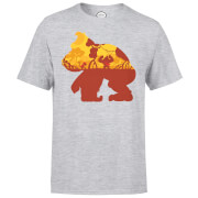 Nintendo Donkey Kong Silhouette Mangrove Men's Light Grey T-Shirt