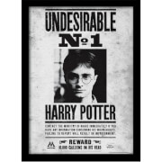 Harry Potter Undesirable No.1 Framed 30 x 40cm Print