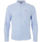 Brave Soul Men's Pompeii Shirt - Light Blue