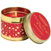 Stoneglow Nutmeg and Ginger Glitter Topped Candle
