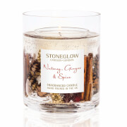 Stoneglow Nutmeg and Ginger Gel Vase Candle