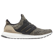 adidas Men's Ultra Boost Running Shoes - Black/Gold