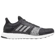 adidas Men's Ultra Boost ST Running Shoes - Black/White/Orange
