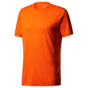 adidas Men's Supernova Running T-Shirt - Orange
