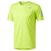 adidas Men's Supernova Running T-Shirt - Yellow