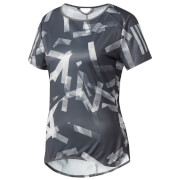 adidas Women's Response Running T-Shirt - Grey/White