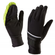 Sealskinz Hybrid Overmitten Gloves - Yellow