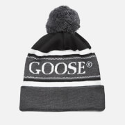 Canada Goose Men's Merino Logo Pom Hat - Black/Graphite/White