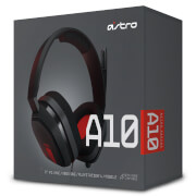 Casque de Gaming ASTRO A10 (PC/PS4/Xbox One)
