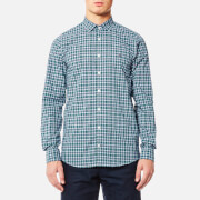 Tommy Hilfiger Men's Finny Check Long Sleeve Shirt - Mediterranea/Ultramarine/Multi
