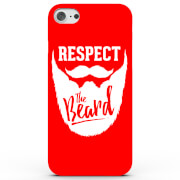 Respect the Beard Phone Case for iPhone & Android - 4 Colours