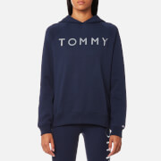 Tommy Hilfiger Women's Heavy Weight Tommy Hoody - Peacoat
