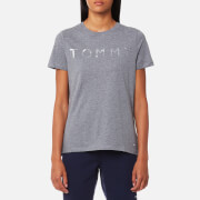 Tommy Hilfiger Women's Tommy Print T-Shirt - Mid Grey Heather