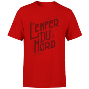 L'enfer Du Nord Men's Red T-Shirt