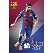 Barcelona Suarez 16/17 - 61 x 91.5cm Maxi Poster