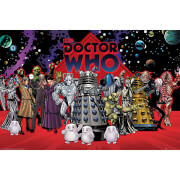 Doctor Who Compilation - 61 x 91.5cm Maxi Poster