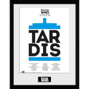 Doctor Who Spacetime Tour Tardis - 16 x 12 Inches Framed Photograph