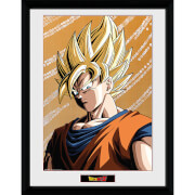 Dragon Ball Z Goku 2 - 16 x 12 Inches Framed Photograph