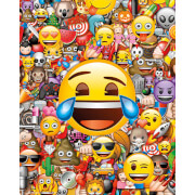 Emoji Collage - 40 x 50cm Mini Poster