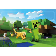 Minecraft Ocelot Chase - 61 x 91.5cm Maxi Poster