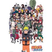 Naruto Shippuden Group - 61 x 91.5cm Maxi Poster