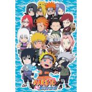 Naruto Shippuden SD Compilation - 61 x 91.5cm Maxi Poster