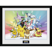 Pokémon Eevee - 16 x 12 Inches Framed Photograph