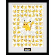 Pokémon Pikachu 1 - 16 x 12 Inches Framed Photograph