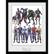 Resident Evil Concept Art - 16 x 12 Inches Framed Photograph