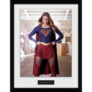 Supergirl Stance - 16 x 12 Inches Framed Photograph