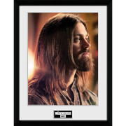 The Walking Dead Jesus - 16 x 12 Inches Framed Photograph