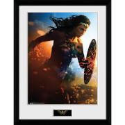 Wonder Woman Run - 16 x 12 Inches Framed Photograph
