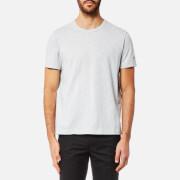 Champion Men's Basic Sleeve Logo Short Sleeve T-Shirt - Grey Marl