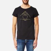 Maison Labiche Men's Love T-Shirt - Noir