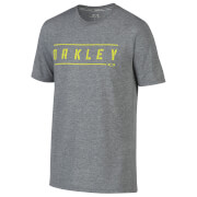 Oakley Men's O-Double Stack T-Shirt - Grey