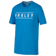Oakley Men's O-Double Stack T-Shirt - Blue
