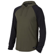 Oakley Men's Lakeside Hooded Long Sleeve Knit Hoody - Dark Green