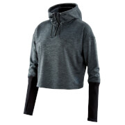 Skins Women's Activewear Wireless Tech Cropped Hoody - Black