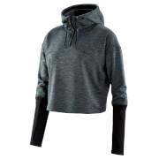 Skins Women's Activewear Wireless Tech Cropped Hoody - Black
