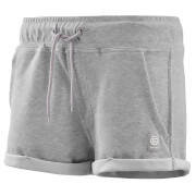 Skins Activewear Women's Wireless Sport Fleece Shorts - Silver/Marle